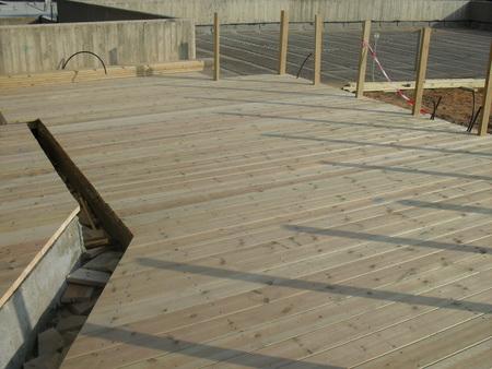רצפת עץ אורן דגם 40
